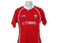 Mens Red Welsh Rugby Shirt