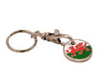 dragon trolley keyring